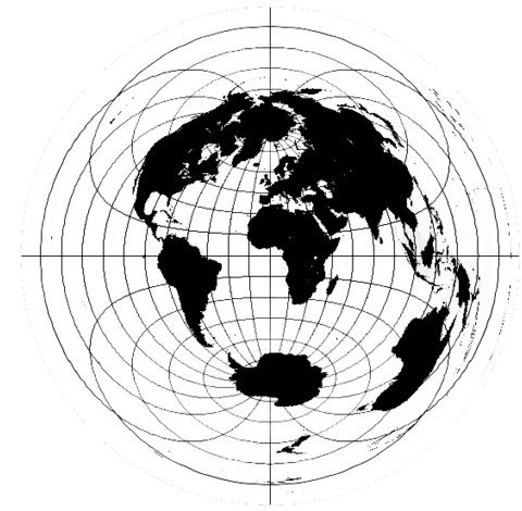 Michael Wilmore's Flat Earth Map