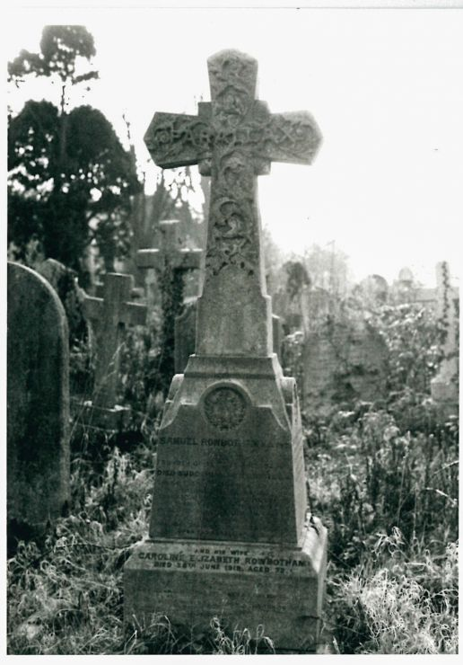 Samuel Rowbotham's Grave