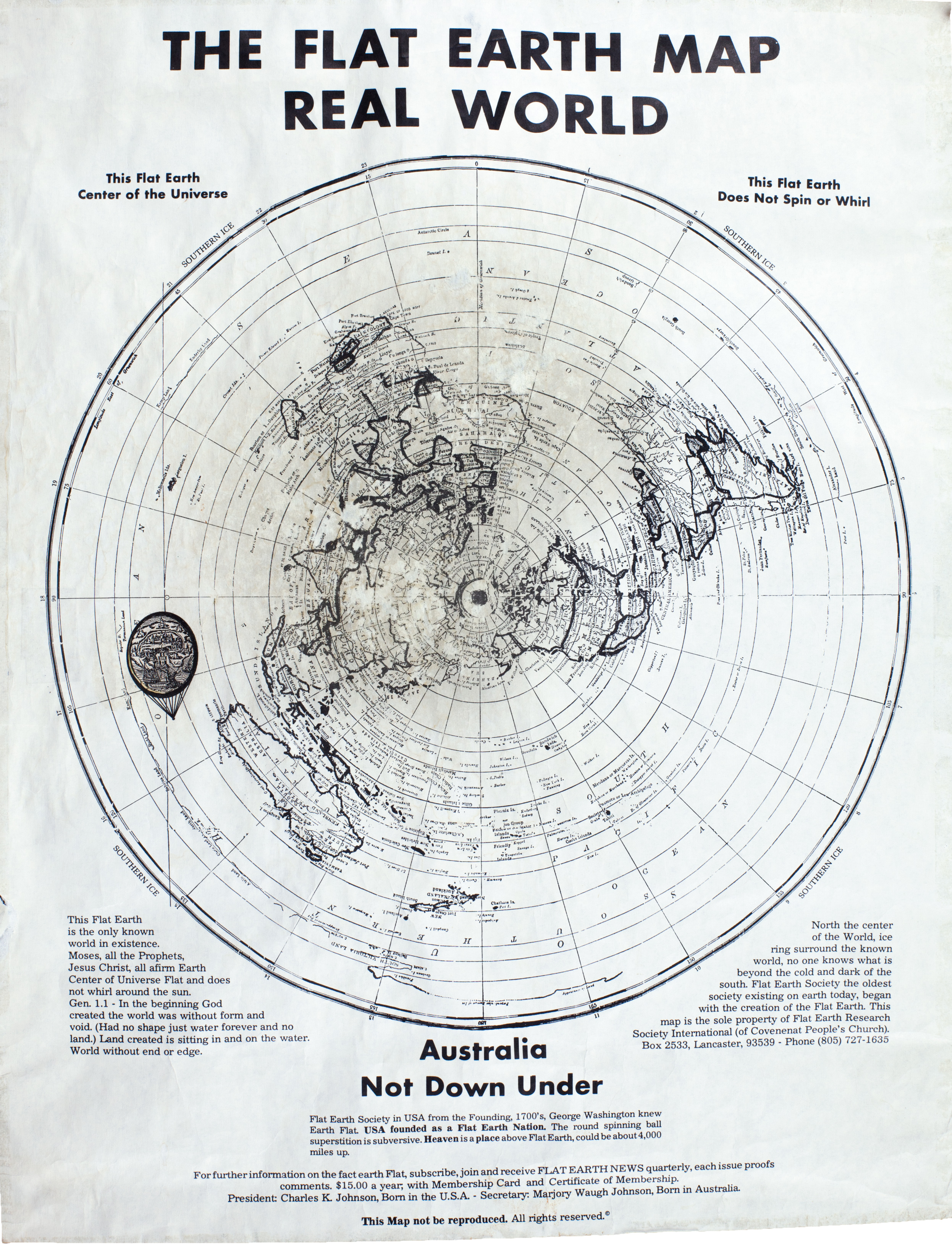 Http://www.theflatearthsociety.org/cms/images/gallery/Maps /01 Flat Earth Society Map (Charles K. Johnson)